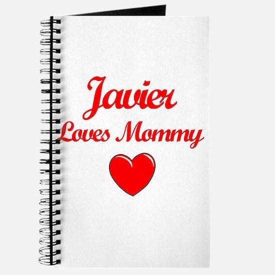 Javier Loves Mommy Journal