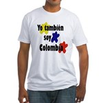 Soy Colombia Fitted T-Shirt