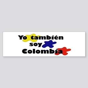 Soy Colombia Bumper Sticker