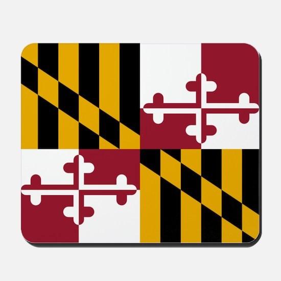 Flag Of Maryland Mousepad
