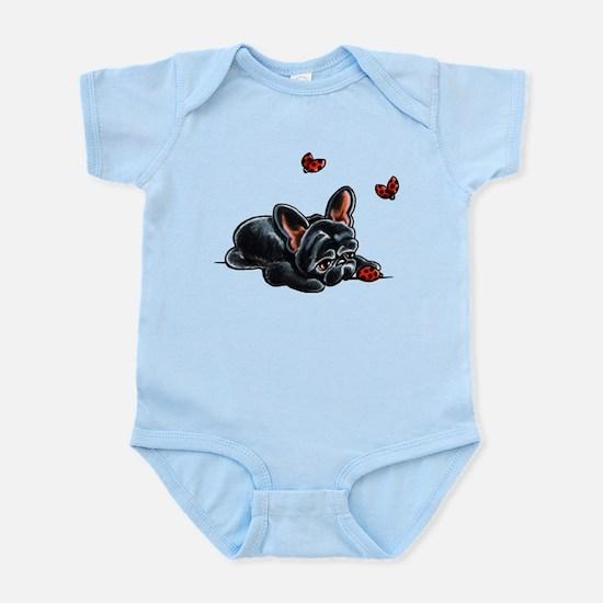 Black Frenchie Ladybug Body Suit