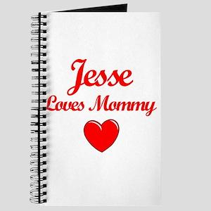Jesse Loves Mommy Journal