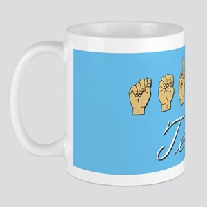 Teresa Name in ASL Mug
