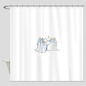 Wise Men Shower Curtain