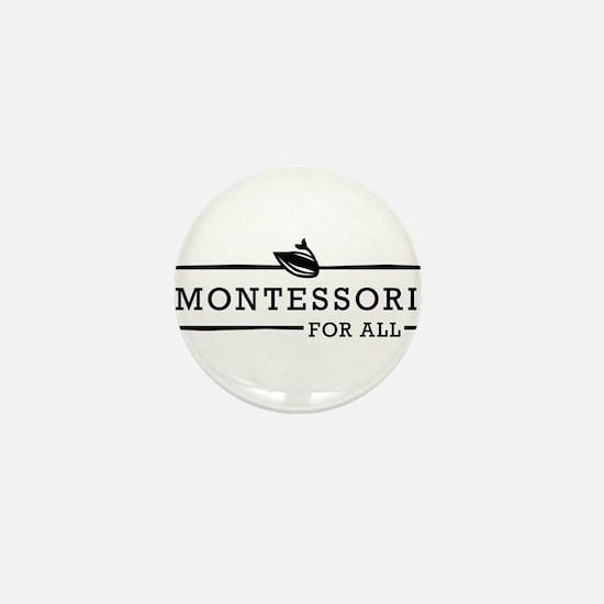 Montessori For All Logo Mini Button