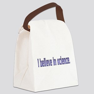 Believe in Science Canvas Lunch Bag