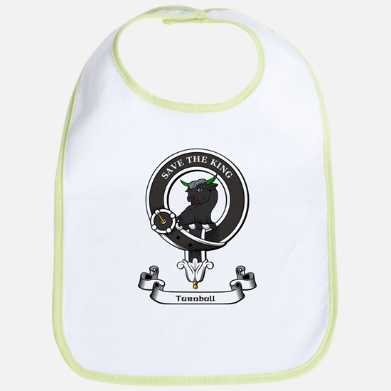 Badge-Turnbull [Bedrule] Cotton Baby Bib