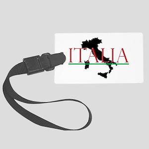 Italia: Italian Boot Large Luggage Tag