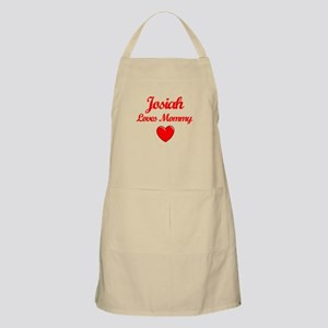 Josiah Loves Mommy BBQ Apron