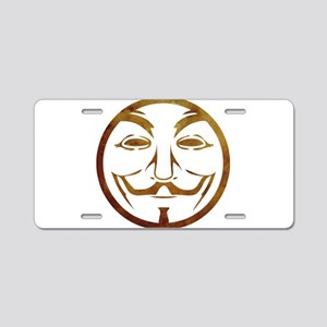 anon2 Aluminum License Plate