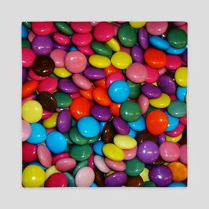 Sweet colorful candies Queen Duvet