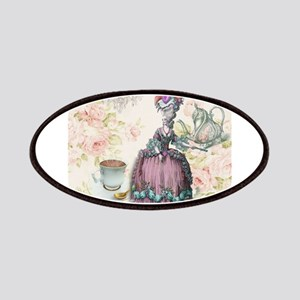 marie antoinette paris floral tea party Patches
