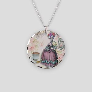 marie antoinette paris floral tea party Necklace C