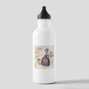 marie antoinette paris floral tea party Water Bott