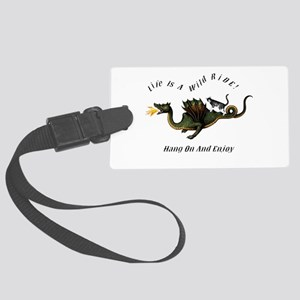 Life Is A Wild Ride Luggage Tag