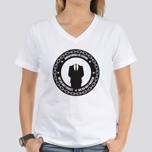 Anonymous is Legion Women's V-Neck T-Shirt