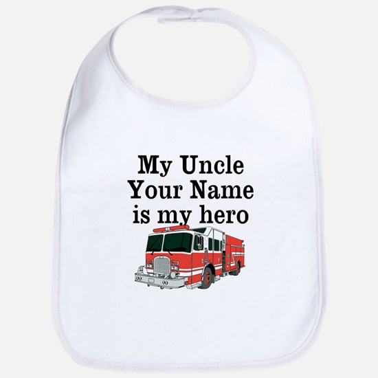 My Uncle (Your Name) Is My Hero Bib