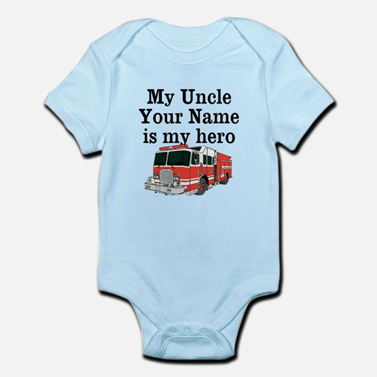 My Uncle (Your Name) Is My Hero Body Suit