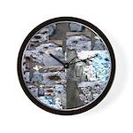 Slippery Wall Clock