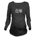 Slippery Long Sleeve Maternity T-Shirt