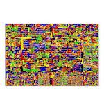 Digital noise Postcards (Package of 8)