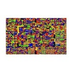 Digital noise Wall Decal