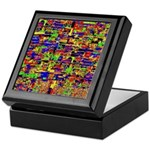 Digital noise Keepsake Box