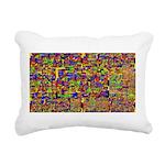 Digital noise Rectangular Canvas Pillow