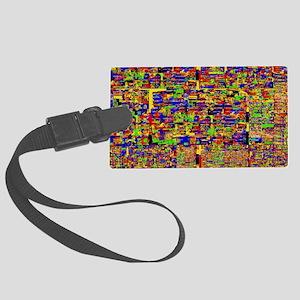 Digital noise Luggage Tag
