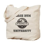 Beach Bum University2 Tote Bag