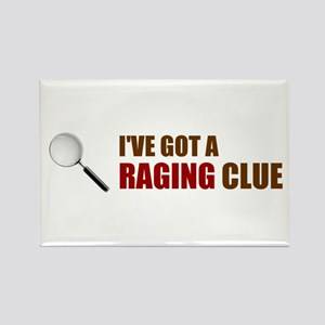 Raging Clue Rectangle Magnet
