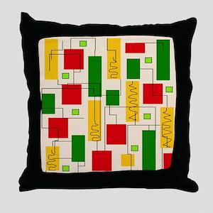 Eames Era 5 Throw Pillow