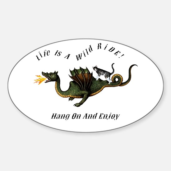 Life Is A Wild Ride Decal
