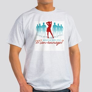 """Man-Tourage"" Light T-Shirt"