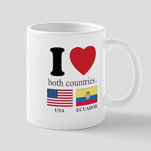USA-ECUADOR Mug
