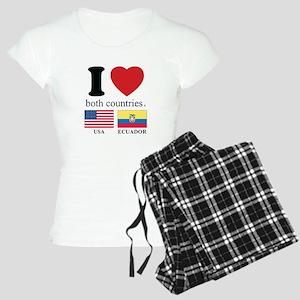 USA-ECUADOR Women's Light Pajamas