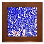 Peace and action Framed Tile