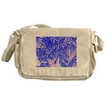 Peace and action Messenger Bag