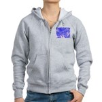 Peace and action Zip Hoodie