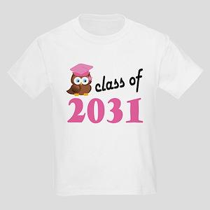 Class of 2031 (Owl) Kids Light T-Shirt
