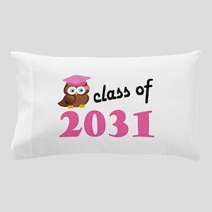 Class of 2031 (Owl) Pillow Case