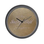 Society's Child Album Logo Wall Clock