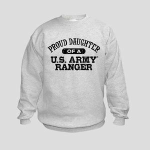 Army Ranger Daughter Kids Sweatshirt