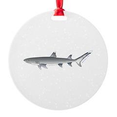 Whitetip Reef Shark Ornament