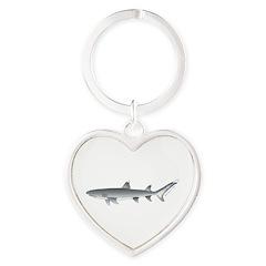 Whitetip Reef Shark Keychains