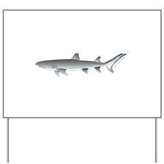 Whitetip Reef Shark Yard Sign