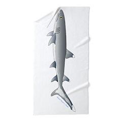 Whitetip Reef Shark Beach Towel