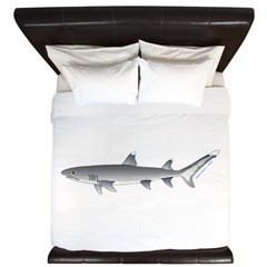 Whitetip Reef Shark King Duvet