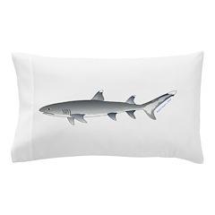 Whitetip Reef Shark Pillow Case