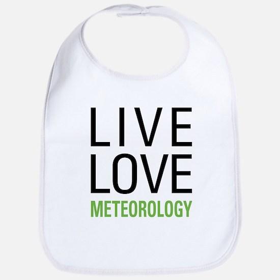 Live Love Meteorology Bib
